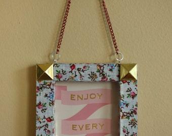 "Mini Inspirational Frame Art ""Enjoy"""