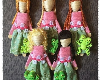 Worry Dolls - Frog Worry Doll