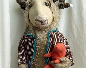 soft sculpture sheep RAM