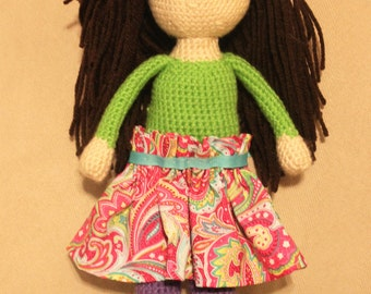 Made-to-Order Crochet Doll