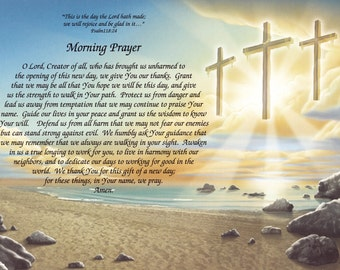 Morning Prayer Custom Print - Can Be Personalized!