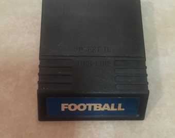 Football Intellivision Vintage Game. Works Great.