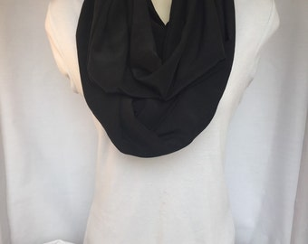 Infinity Scarf: Little Black Scarf