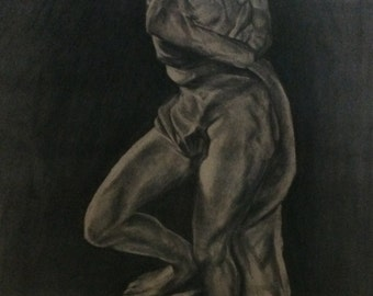 Slave figure drawing