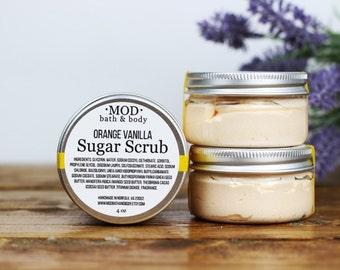Whipped Sugar Scrub Orange Vanilla Sugar Scrub