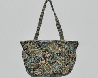 Perky Paisley Bag