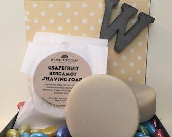 Grapefruit Bergamont Shaving Soap
