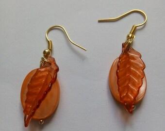 Fall fruit earrings