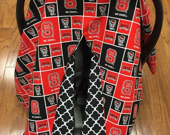 NC State Car Seat Canopy