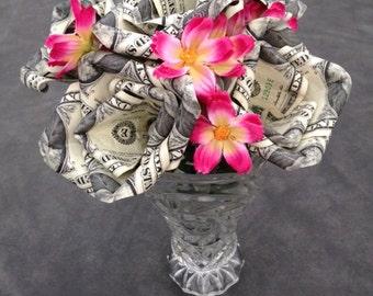 Origami Money Roses, Money Roses, Gift, Bouquet, Valentine's Day, Wedding, Bridal Shower, Birthday, Graduation, Anniversary, flowers, Unique