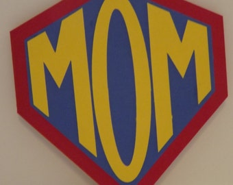 Happy Mother's Day Card Super Mom Hero Card
