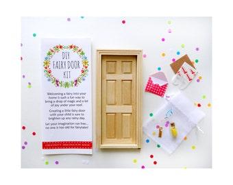 DIY Fairy Door, DIY Kit for Fairy Door, Fairy Door Tutorial, Creative kit