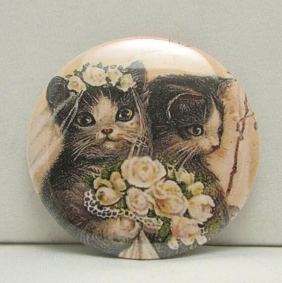 I Like Cats Pocket Mirror