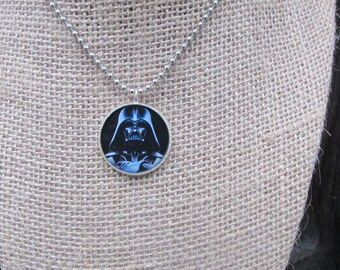 Star Wars Pendant, Darth Vader Necklace, The Force, Star Wars Jewelry, The Empire Strikes Back