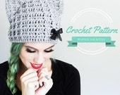 Crochet Cat Hat Pattern Cat Beanie Crochet Pattern