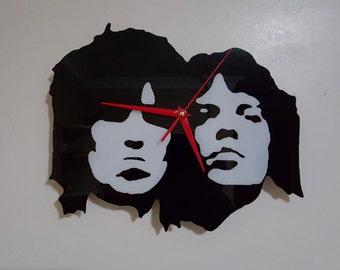Rolling Stones Silhouette Clock