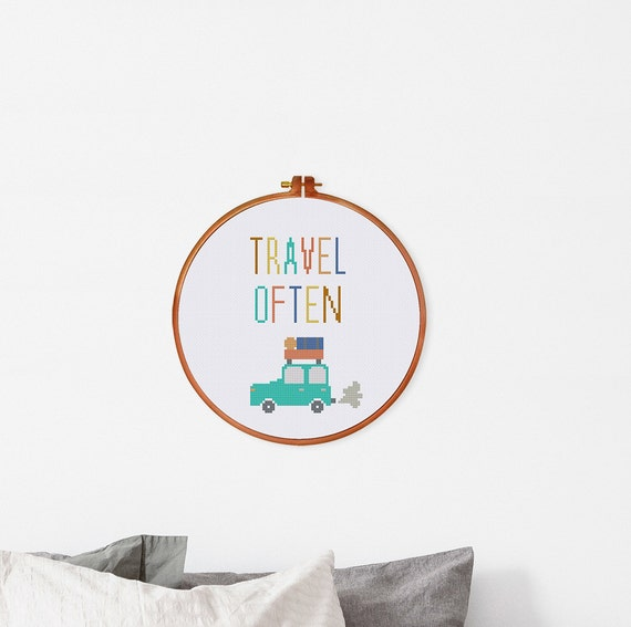 Travel often nursery room decor handmade gift for travel for Birthday gifts for travel lovers