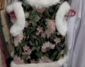 vest for girls Fur vest Wool vest Sheepskin Rabbit fur Warm children's vest The vest from the sheepskin Warm clothing for girls