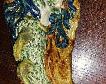 Ceramic Mermaid Goddess