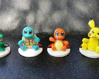 Pick your starter Pokemon! Figurines