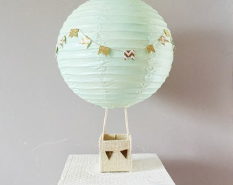 Hot Air Balloon Decorations - Up Up and Away Party - Baby Shower Decorations  - Bridal Shower Decor -