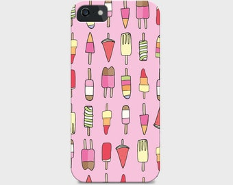 Hand-drawn Lollipop Pattern iPhone Case (5c, 5s, 6 and 6s available)