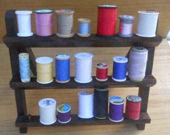Sewing Spools Organizer Holding Rack Stand