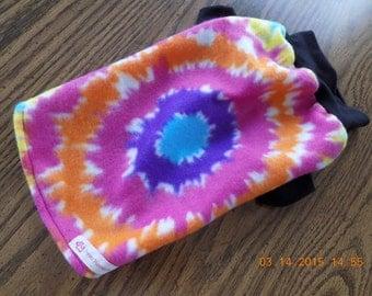 Dog Coat//Dog Shirt//Dog Clothing//Tie-Dye//Shirt for Dogs//Fleece Tie-Dye Pullover Shirt for Dogs (S-M-L)
