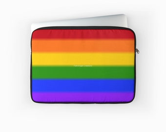 Gay Pride Flag Laptop Sleeve! Multiple Sizes Available!