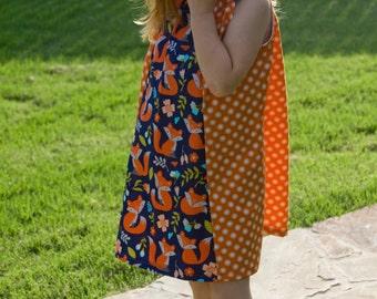 Polka Dot Fox Dress