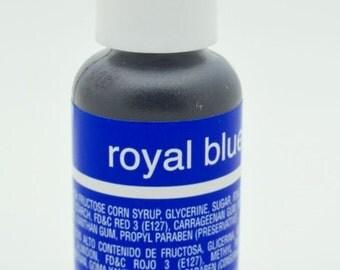 Chef Master Gel Color .75 oz- Royal Blue
