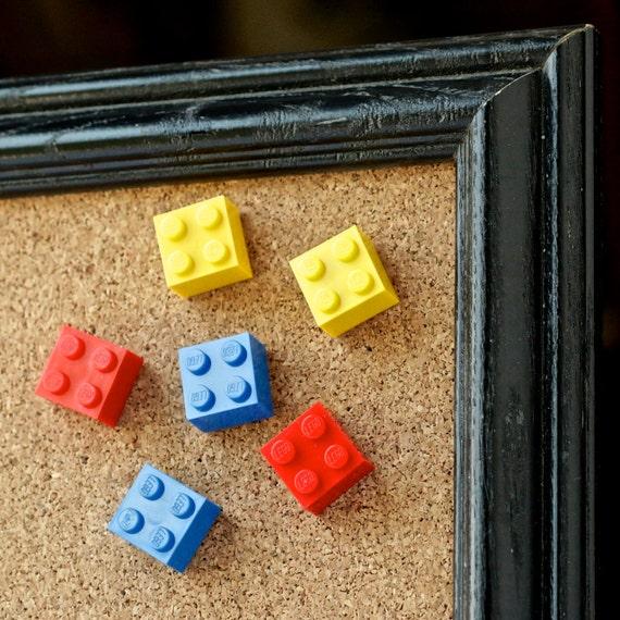 LEGO® Thumbtacks | Colored Push Pins | Fun Office Supplies | Geek ...