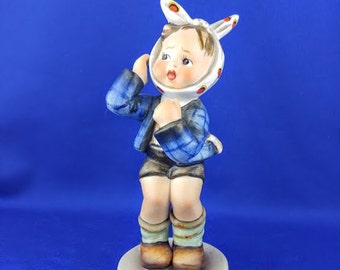 Boy With Toothache Hummel Figurine