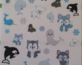 Winter Arctic Animals