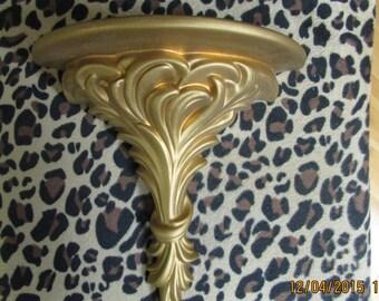 VINTAGE Arners mural Tablet your gold / VTG mural Tablet / VTG Victorian Style Golden Tablet