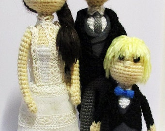 Amigurumi wedding (custom)