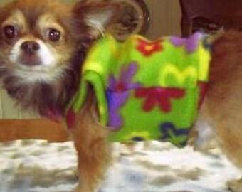 Dog sweatshirt,pet clothing,polarfleece fabric,doggie outerwear,dog clothes,doggiewear,dog accessories, dog shirt, doggie tops,SIZE MEDIUM