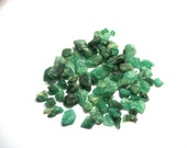 40 carat lot of small Emerald crystals.  Approx 80 pieces and each lot is slightly different.