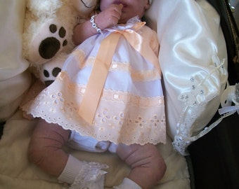 "So realistic, lovely reborn baby girl ""Bethany"" from the ""Precious gift"" kit by Cindy Musgrove."