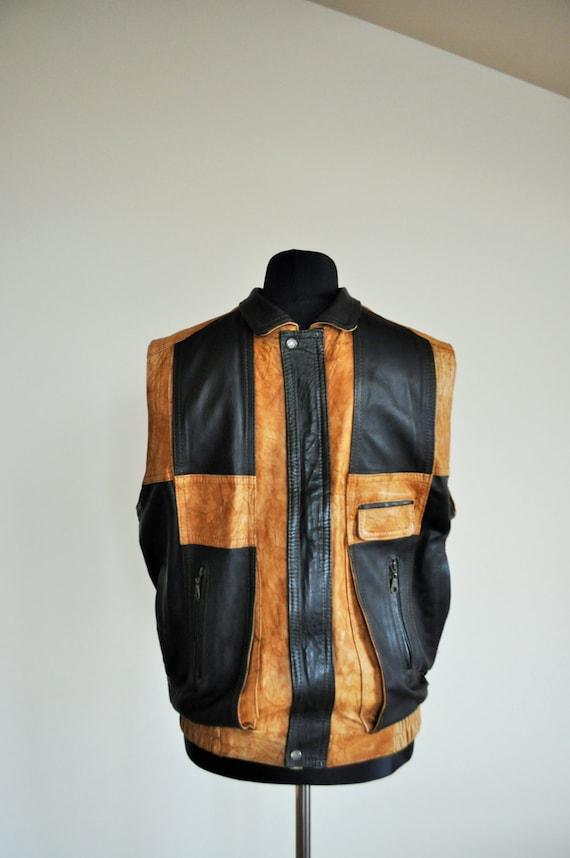 Vintage Mens Vest 112