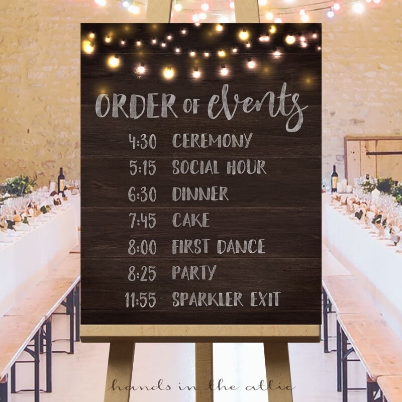 Printable Large Wedding Signs Rustic Wedding Ideas Wedding