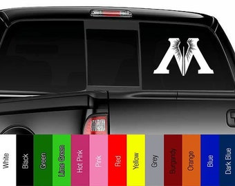 Harry Potter - Ministry of Magic - Vinyl Decal for Car, Truck, Wall, Laptop - Potter, Hallows, Muggle, Wizard