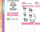Munchkins - Open Wide! Dentist and Dental Care Planner Stickers (M156)