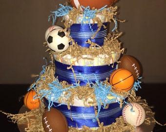 Sports Diaper Cake
