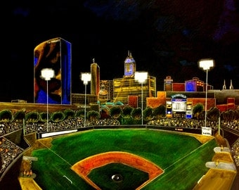 Indianapolis, Indiana, Victory Field home of the Indianapolis Indians