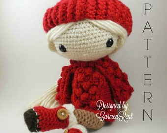 Alejandra - Amigurumi Doll Crochet Pattern PDF