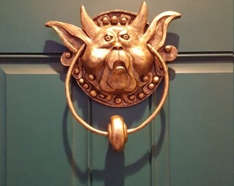 The Labyrinth - Left Door Knocker