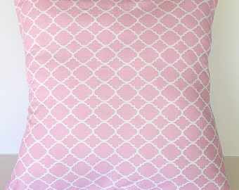 Throw pillow pillow cover bubble gum pink and white modern pillow cover accent pillow cover home decor decorative throw pillow cover