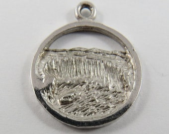 View of Niagara Falls Sterling Silver Charm or Pendant.
