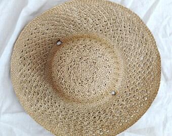 Straw Prairie Hat
